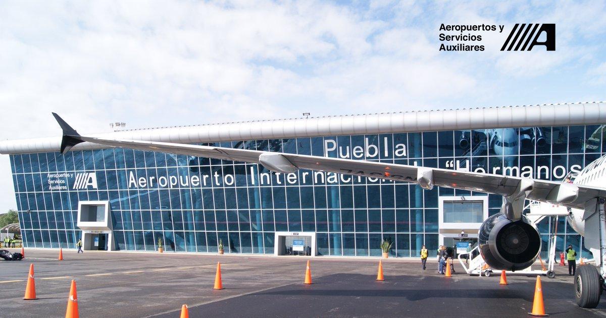 México: Aeropuerto de Puebla registra crecimiento de 30% en 3 años