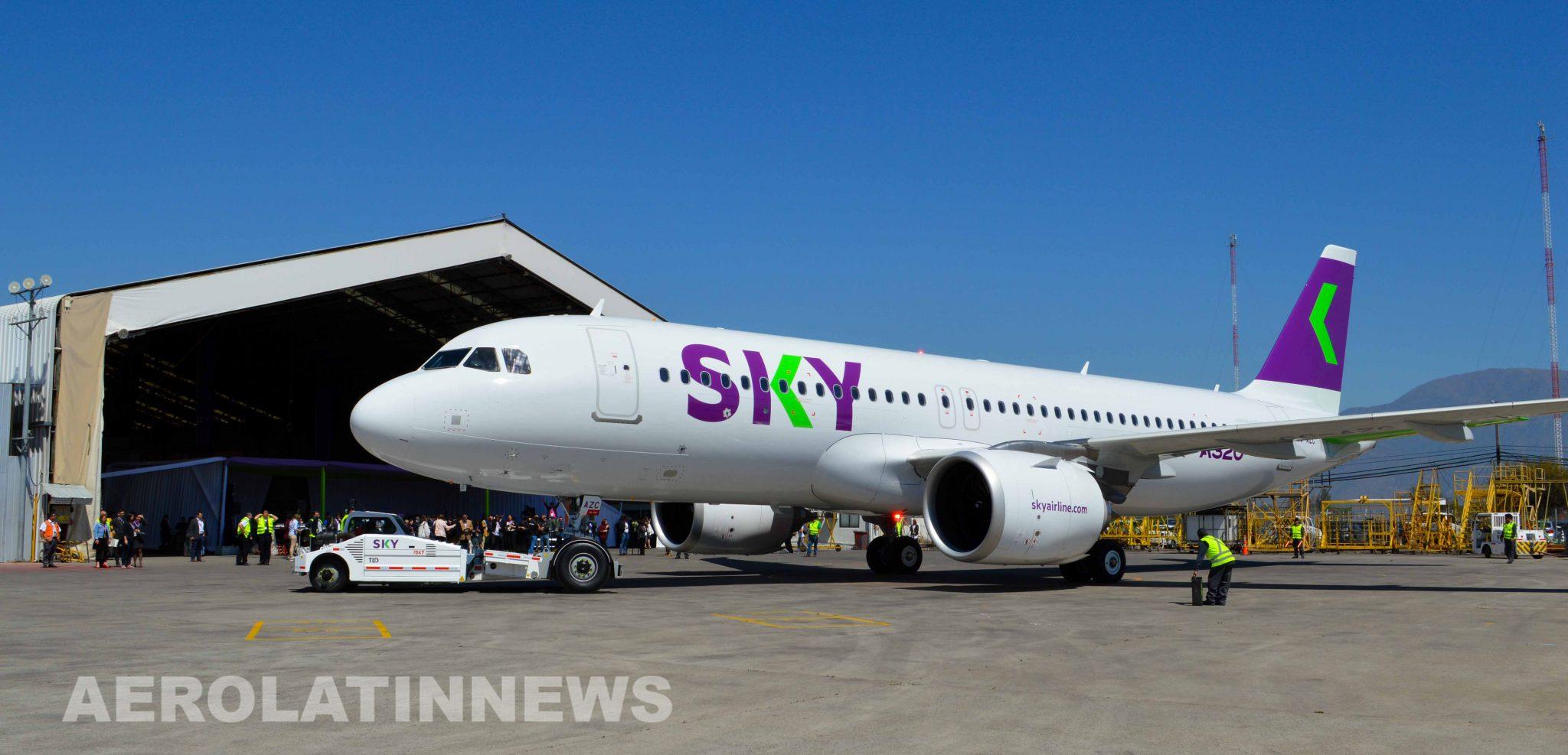 Sky Airline Perú solicita permiso para volar a diversos países de América y Europa