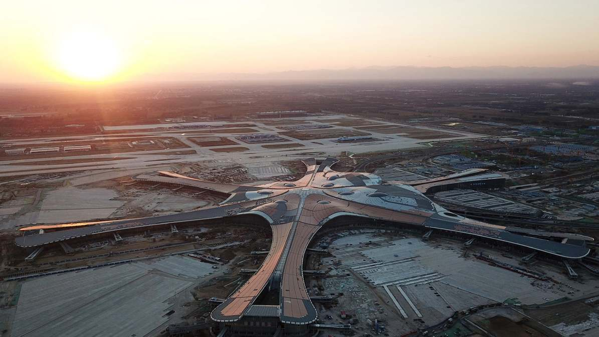 Concluyó la construcción del nuevo aeropuerto de Pekín