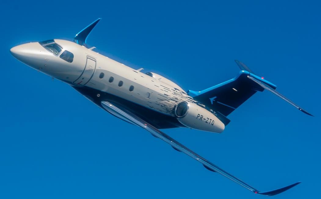 El Praetor 500 de Embraer, certificado por la EASA y la FAA