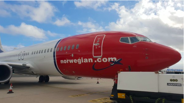 Norwegian Air Argentina transfiere un avión a filiales europeas del grupo por el grounding de los MAX