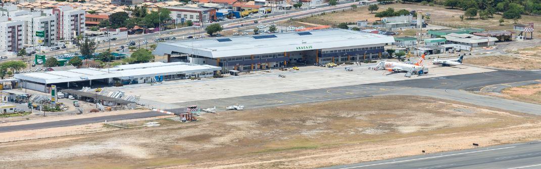 Aeroporto de Aracaju receberá obras de recuperação da taxiway