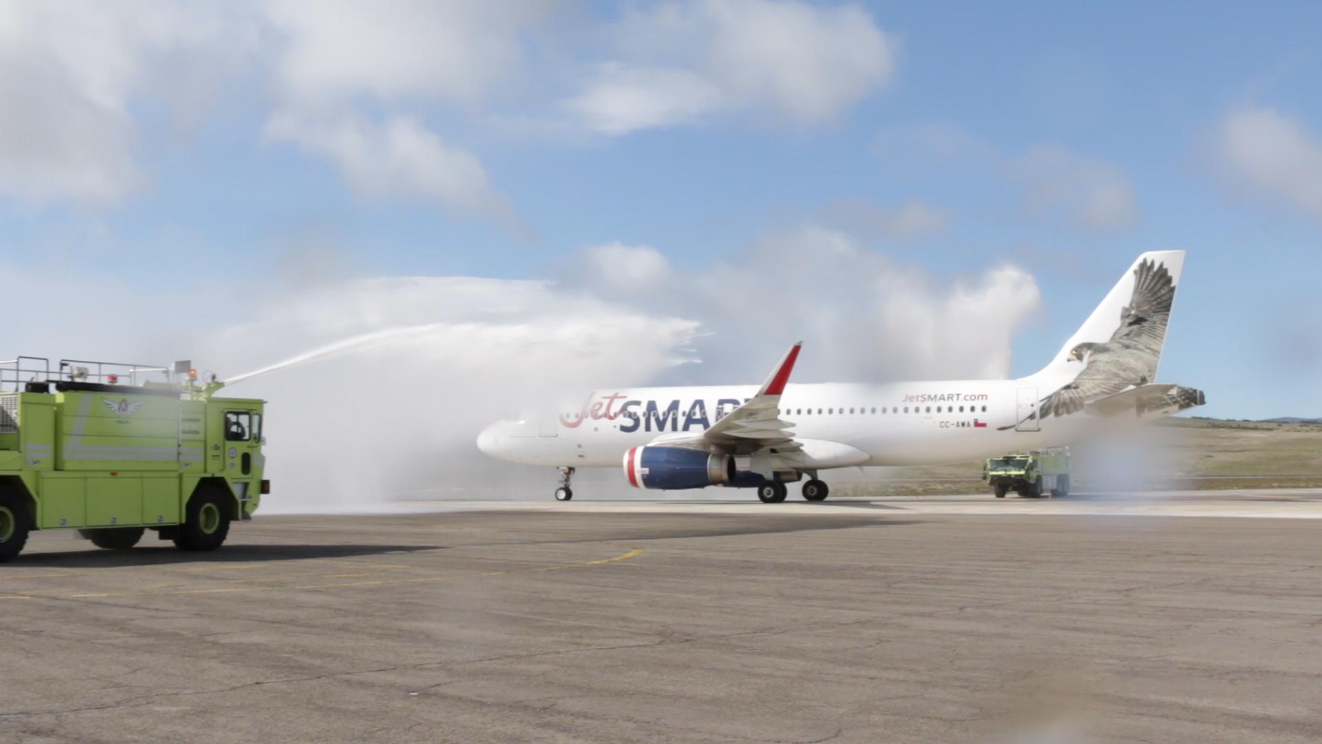 Chile: JetSMART comenzó a operar vuelo directo a Balmaceda