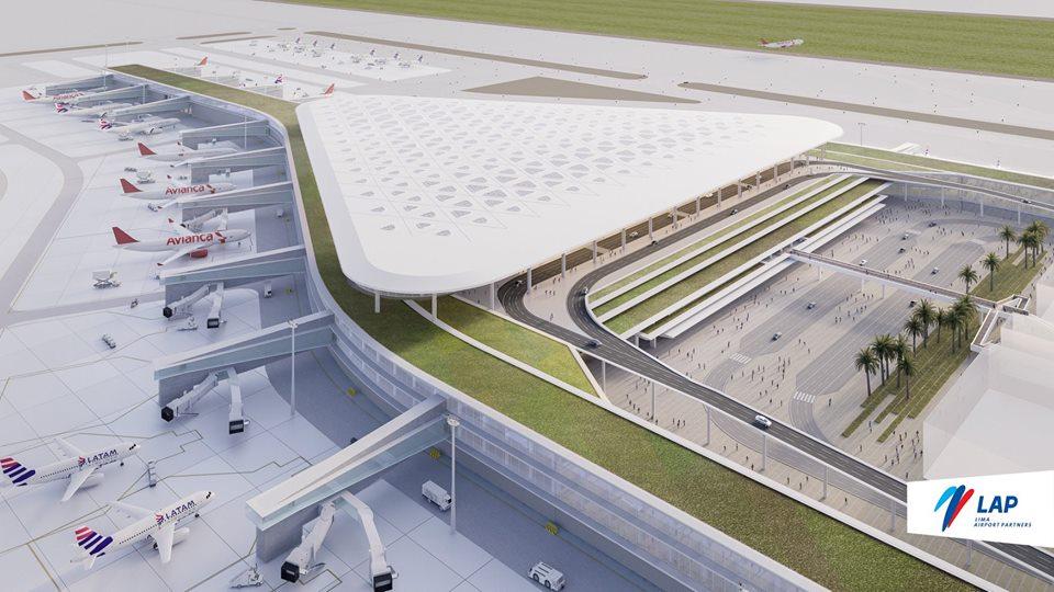 Así lucirá el nuevo terminal de pasajeros del aeropuerto Jorge Chávez