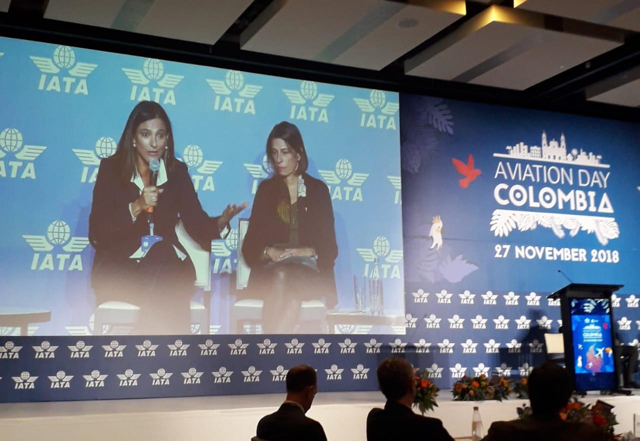 Ministros de Transporte y de Turismo participan en el Aviation Day de Colombia