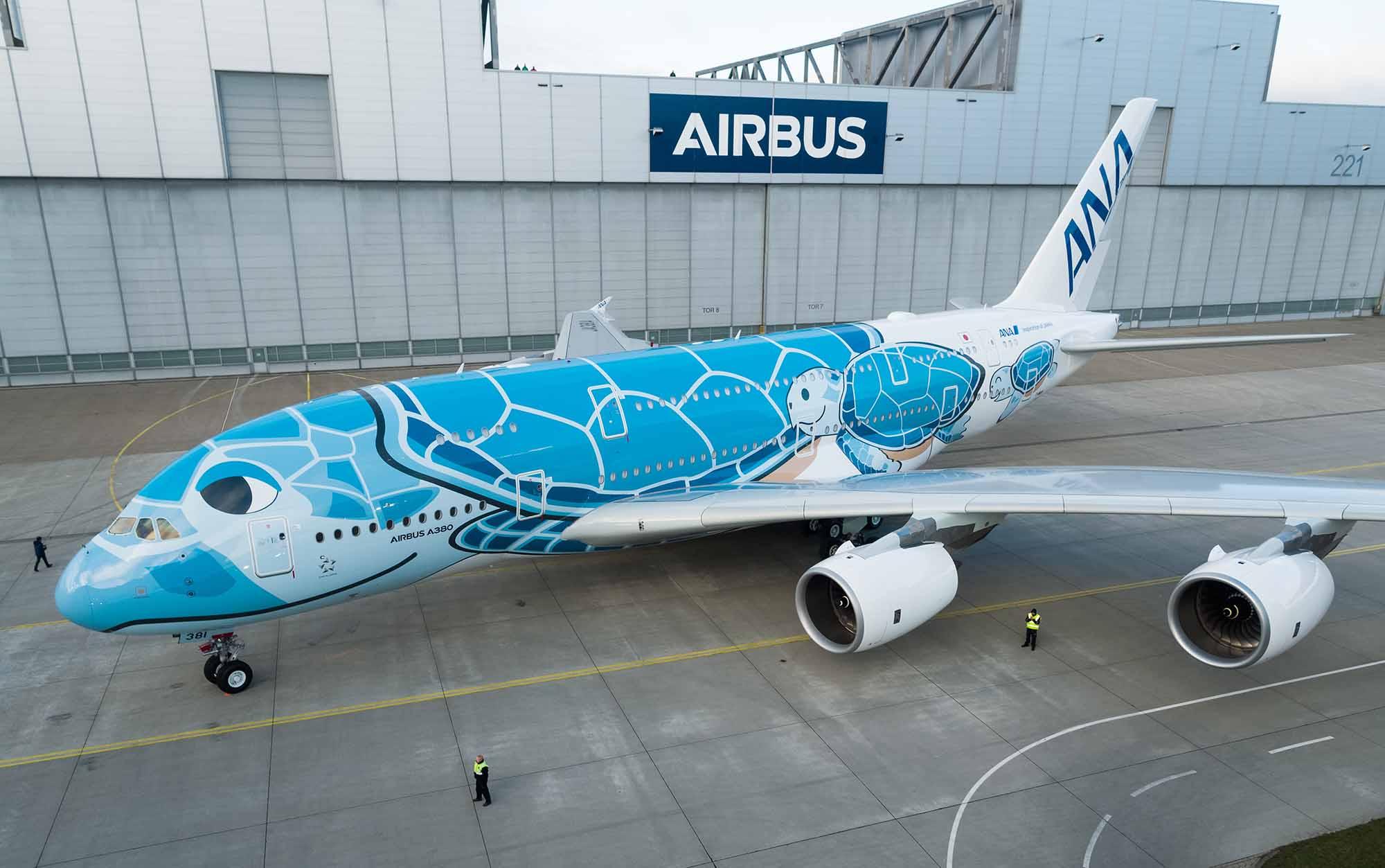 All Nippon Airways realizará vuelo especial en uno de sus Airbus A380