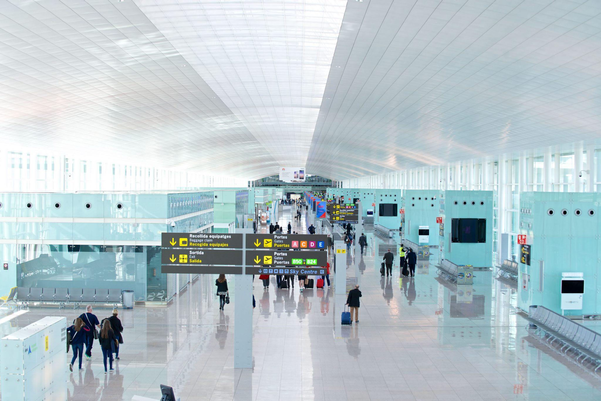 Aena registra 16,9 millones de pasajeros en enero