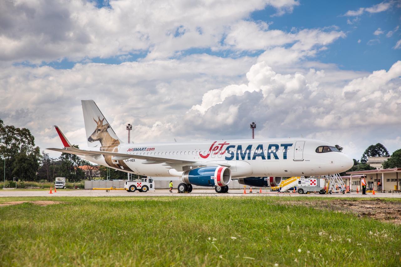JetSMART emite carta de intención para poder realizar mantenimiento mayor en FAdeA