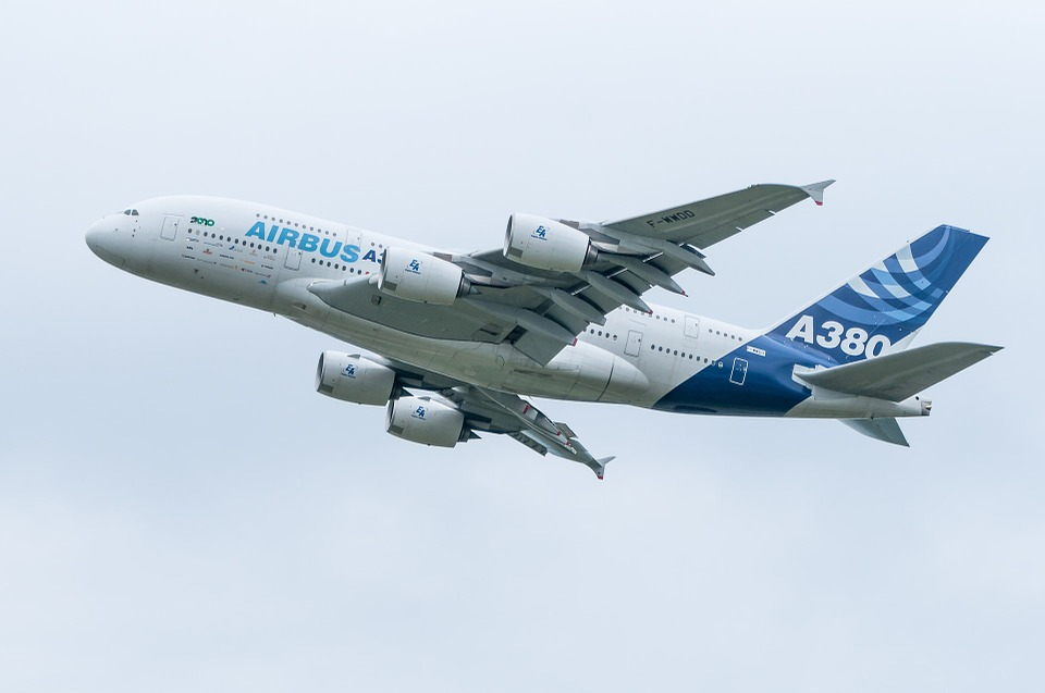 Fabrican los tres últimos fuselajes de la familia A380