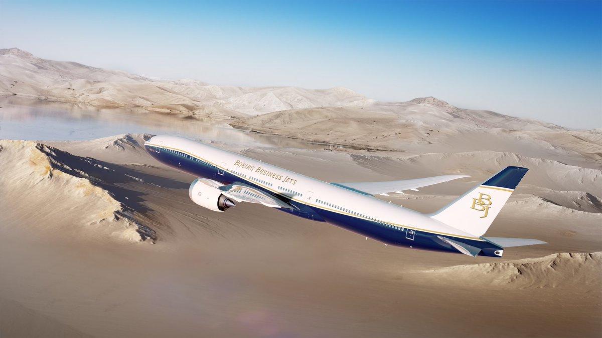 Boeing lanza el avión ejecutivo más grande: el BBJ 777X