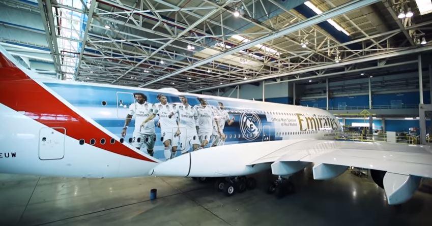Conoce el A380 más merengue del mundo
