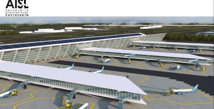 México: El Aeropuerto de Santa Lucía estará operando en tres años, asegura AMLO