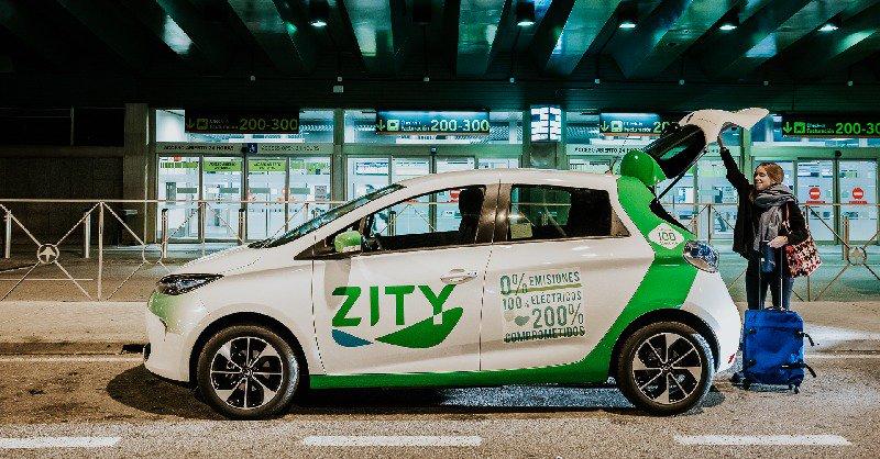 Zity es el primer carsharing en llegar al aeropuerto de Madrid