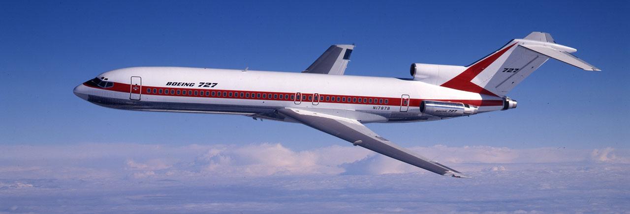 Boeing 727 realiza su último vuelo comercial regular de pasajeros