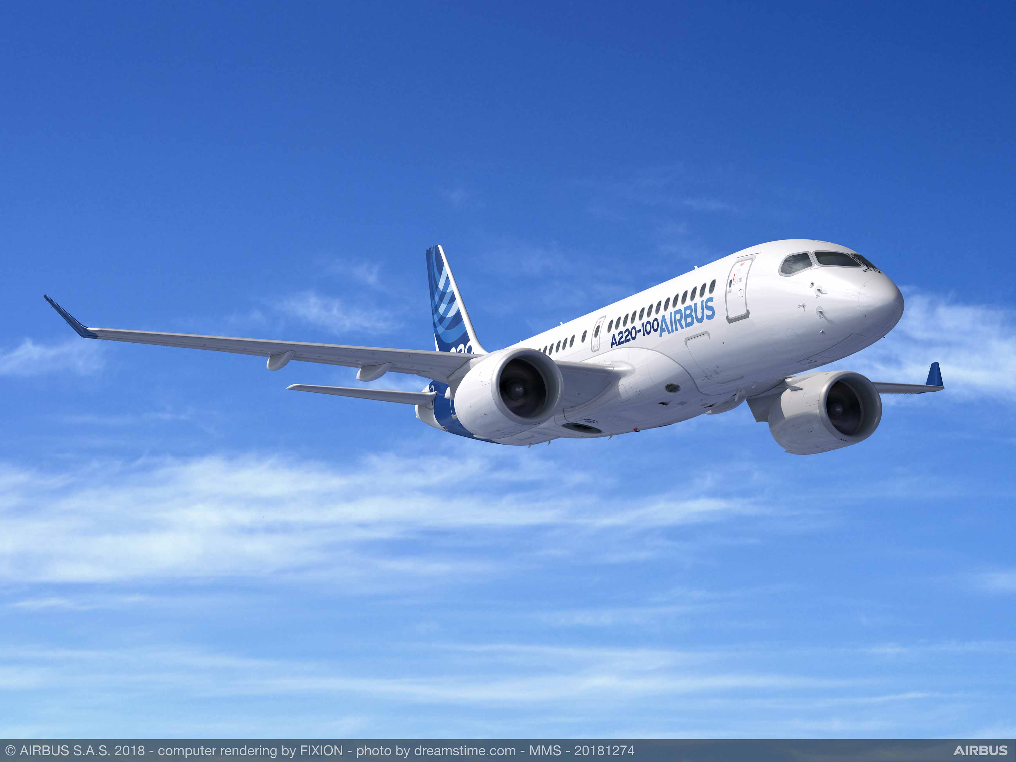 Airbus to hike maximum zero-fuel weight on A220