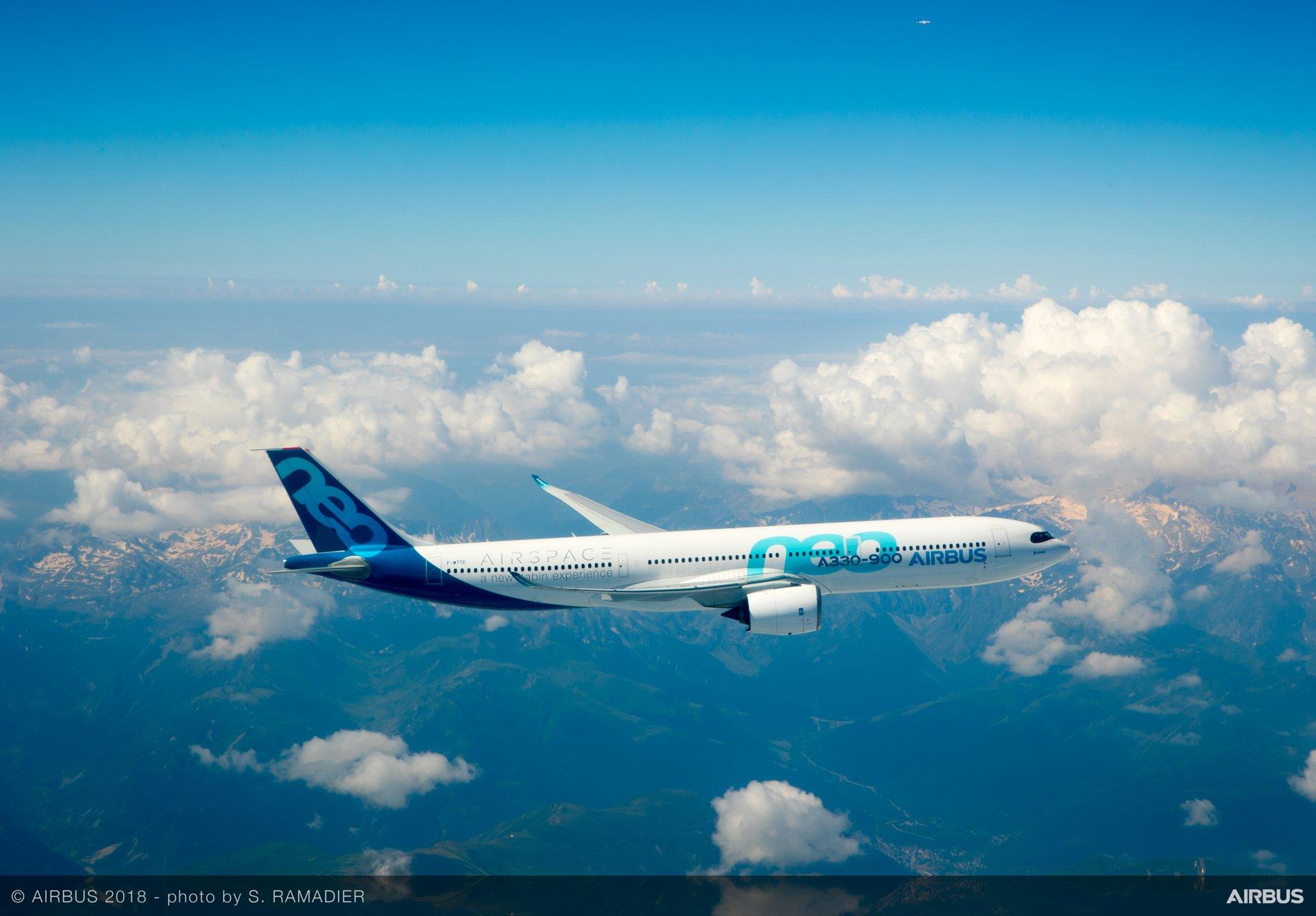 Otorga EASA certificación ETOPS al A330neo