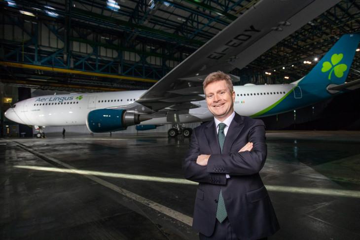 La aerolínea irlandesa Aer Lingus rediseña el icónico trébol de sus aviones
