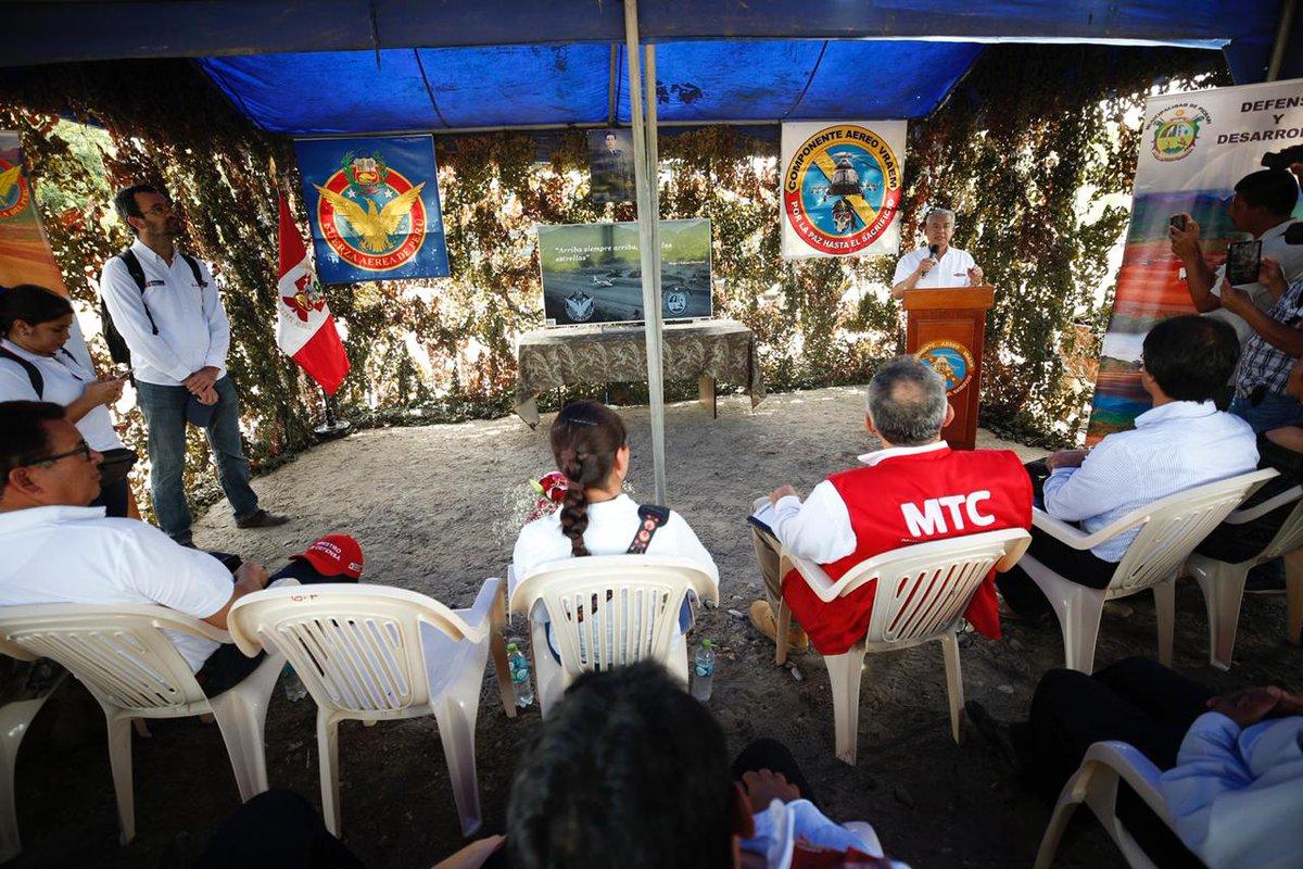 Perú: Este año se terminará aeropuerto de Pichari