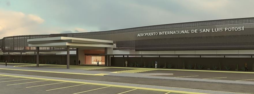 México: Esperan 650 mil pasajeros en el aeropuerto de SLP este año