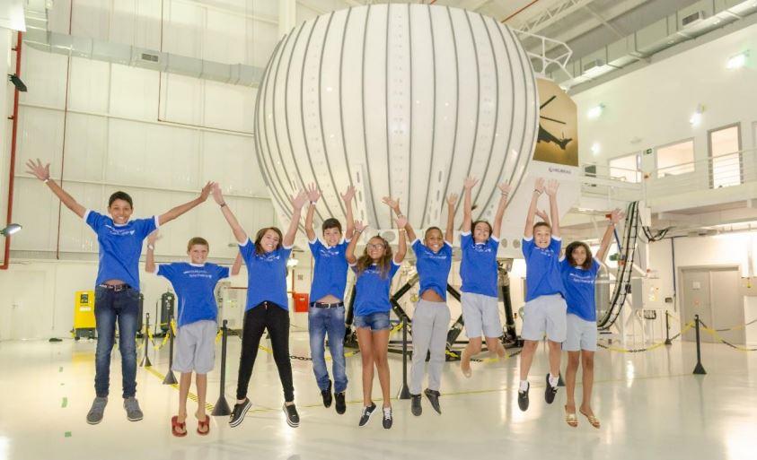 Airbus Foundation galardona al primer equipo brasileño de Flying Challenge