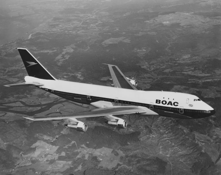 British Airways pintará cuatro de sus aeronaves con diseños icónicos de su pasado