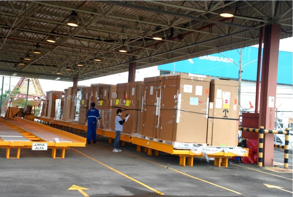 Terminal de carga de São José dos Campos registra crescimento de 19,83% nas exportações em 2018