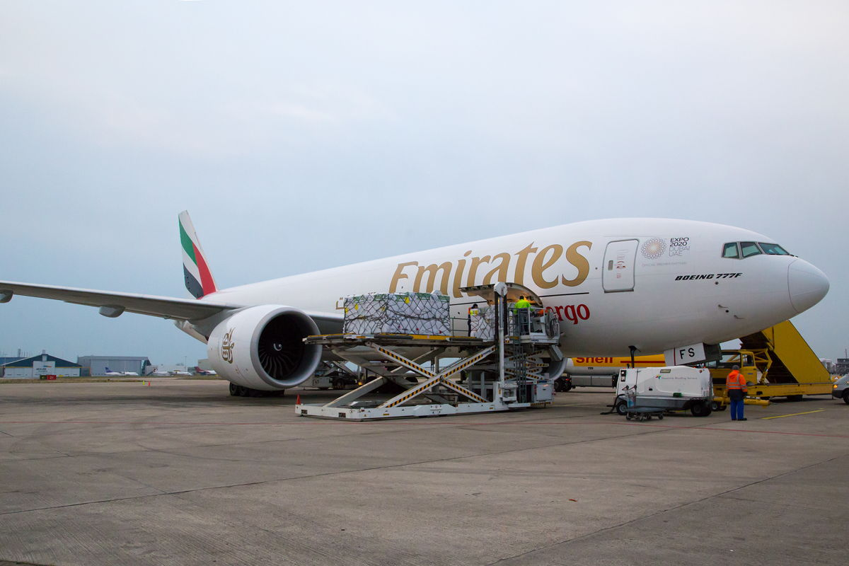 Emirates SkyCargo abrió ruta aérea Dubái-Bogotá-Dubái