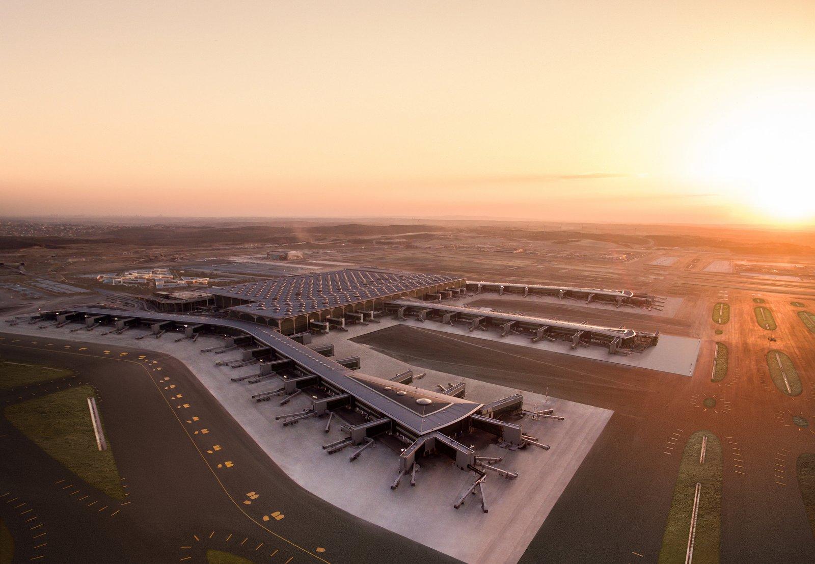 Así es el aeropuerto de Estambul, que se convertirá en el de más tránsito del mundo