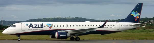 Azul anunció modificaciones en sus operaciones durante la renovación del aeropuerto Santos Dumont