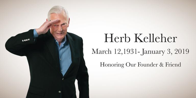 Herb Kelleher, Southwest Airlines founder, dies at 87