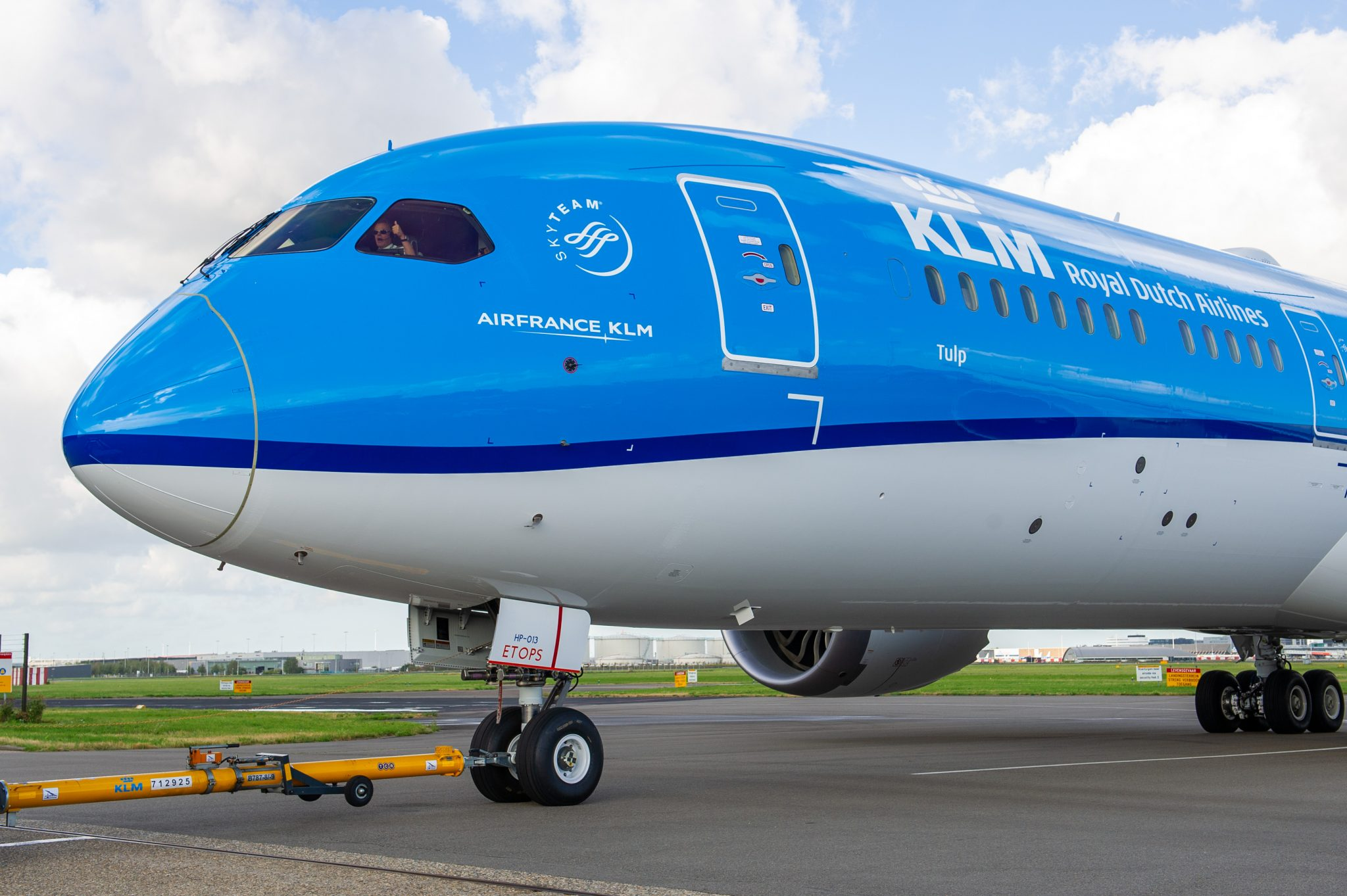KLM statement rapid test for crew