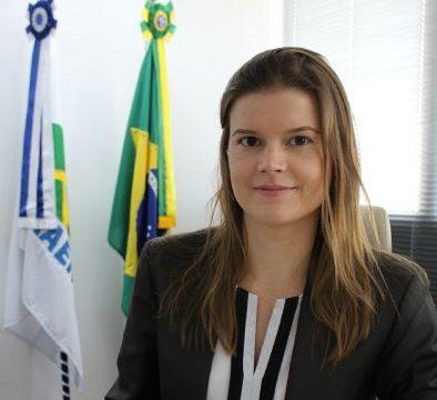 Infraero apresenta Martha Seillier como nova presidente; trata-se da primeira mulher a ocupar o cargo