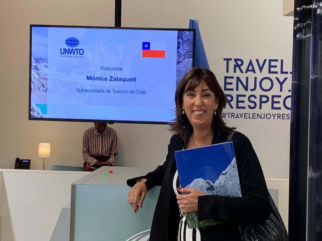 Mónica Zalaquett será la primera mujer en la historia en presidir el Consejo Ejecutivo de la Organización Mundial de Turismo