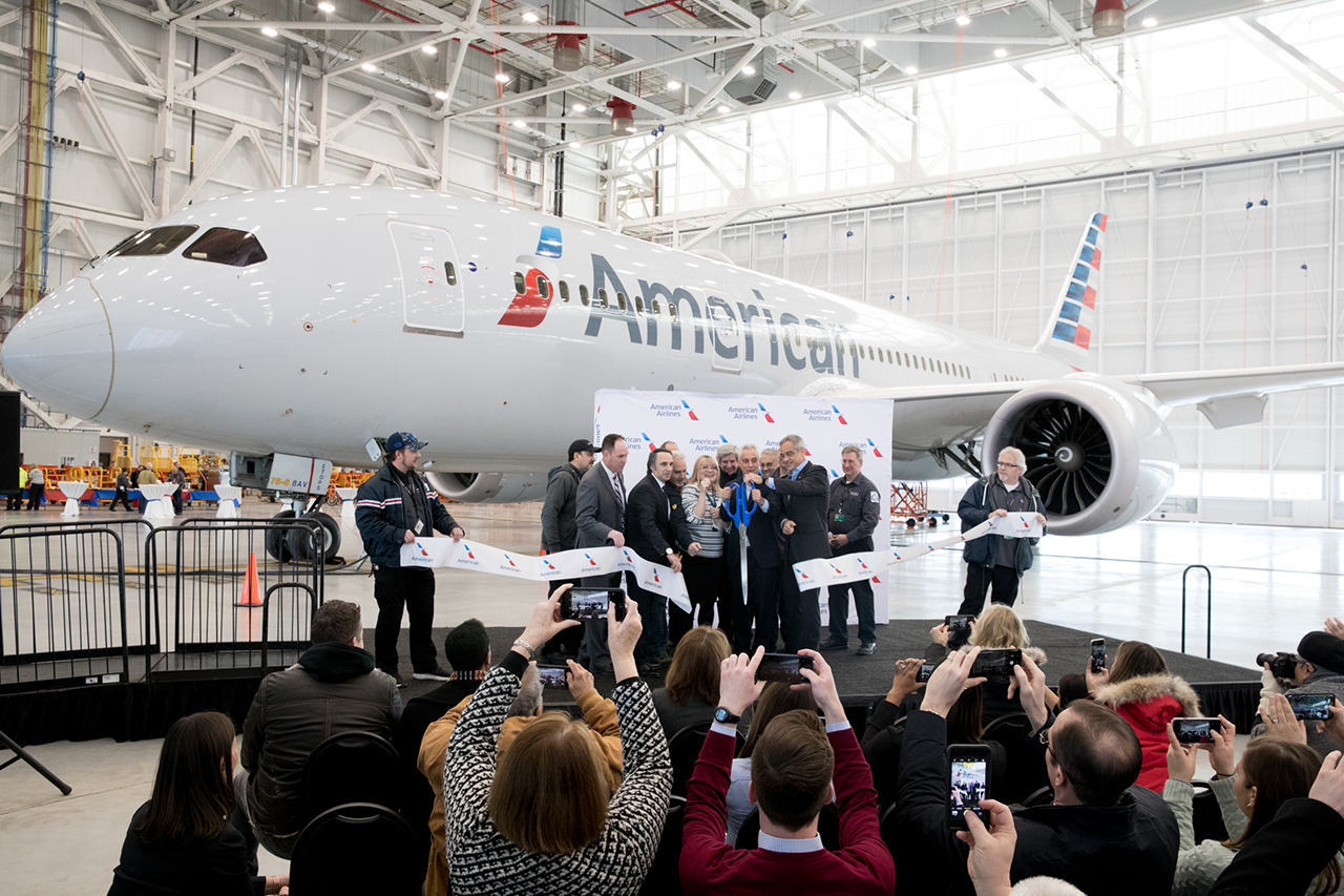 American Airlines opens New Maintenance Hangar at O'Hare International Airport