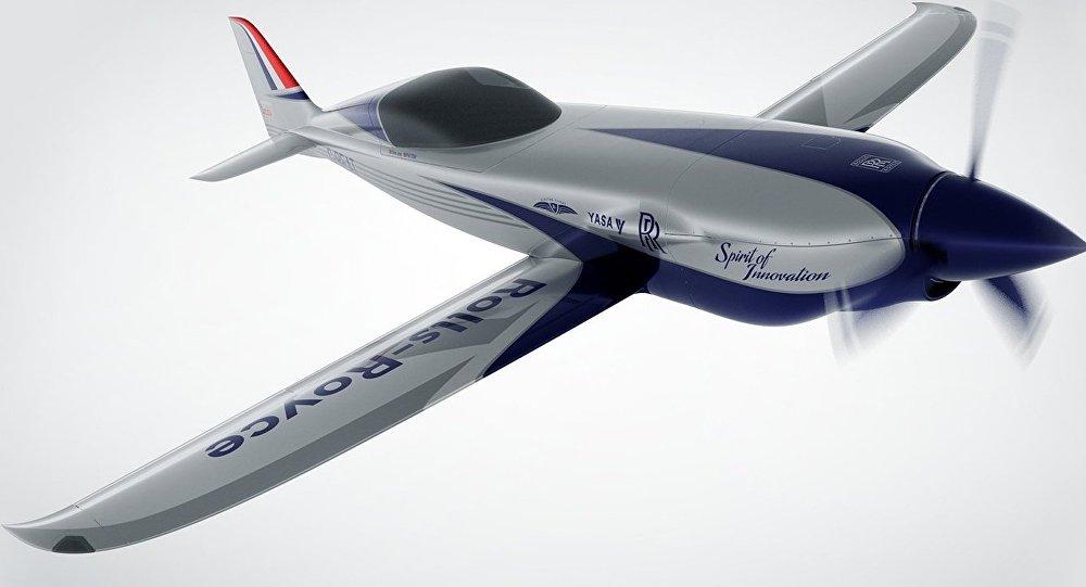 Rolls Royce construye un avión eléctrico que quiere ser el más veloz del mundo