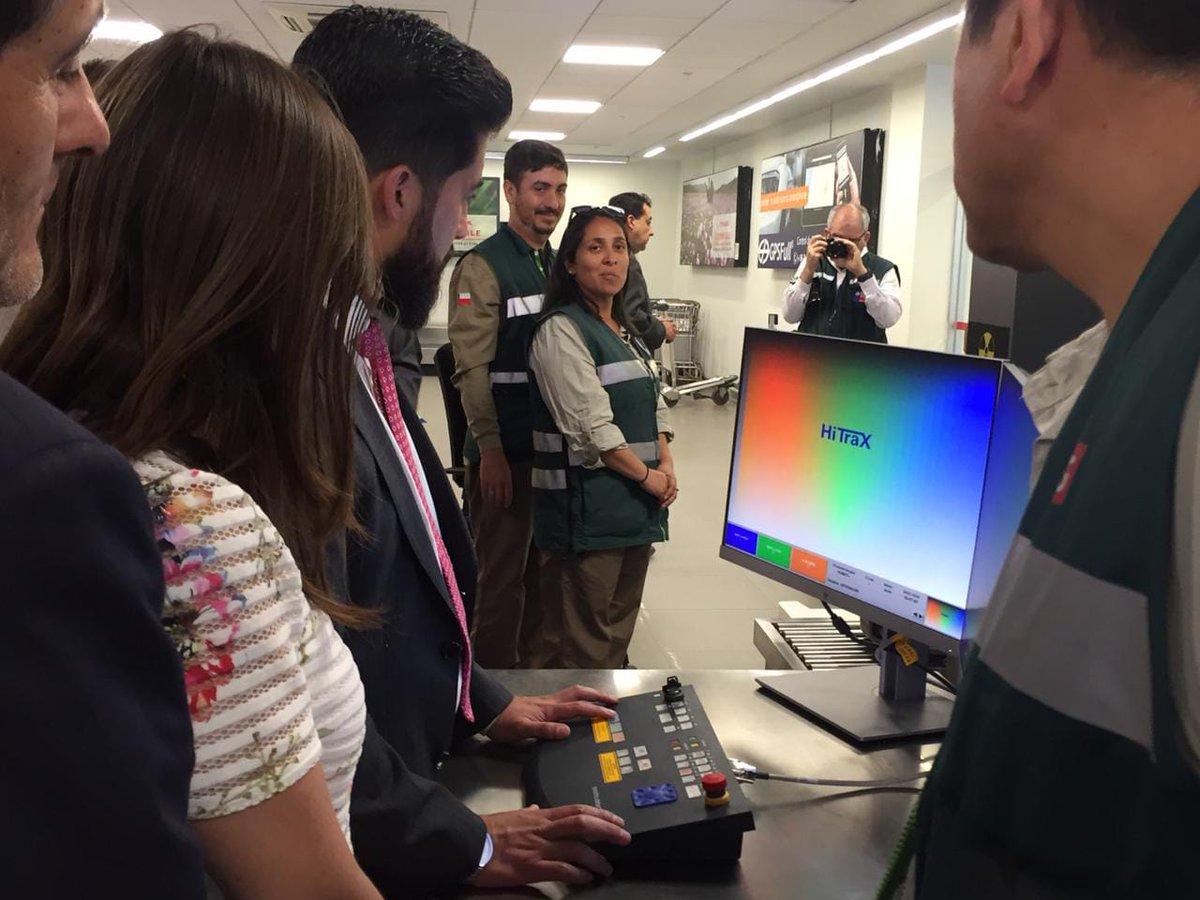 SAG inauguró máquina de rayos x en aeropuerto de Antofagasta