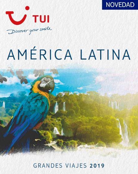 TUI apuesta por América Latina con el lanzamiento de su último catálogo