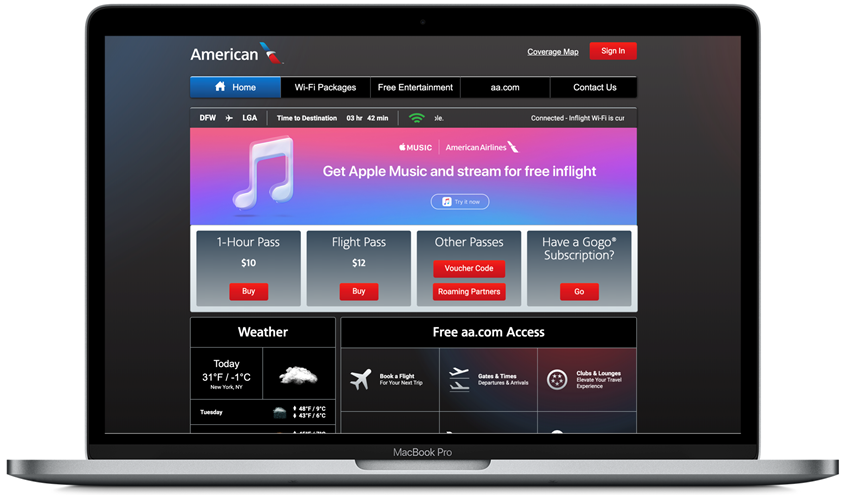 American Airlines Customers Can Access Apple Music for Free in Flight