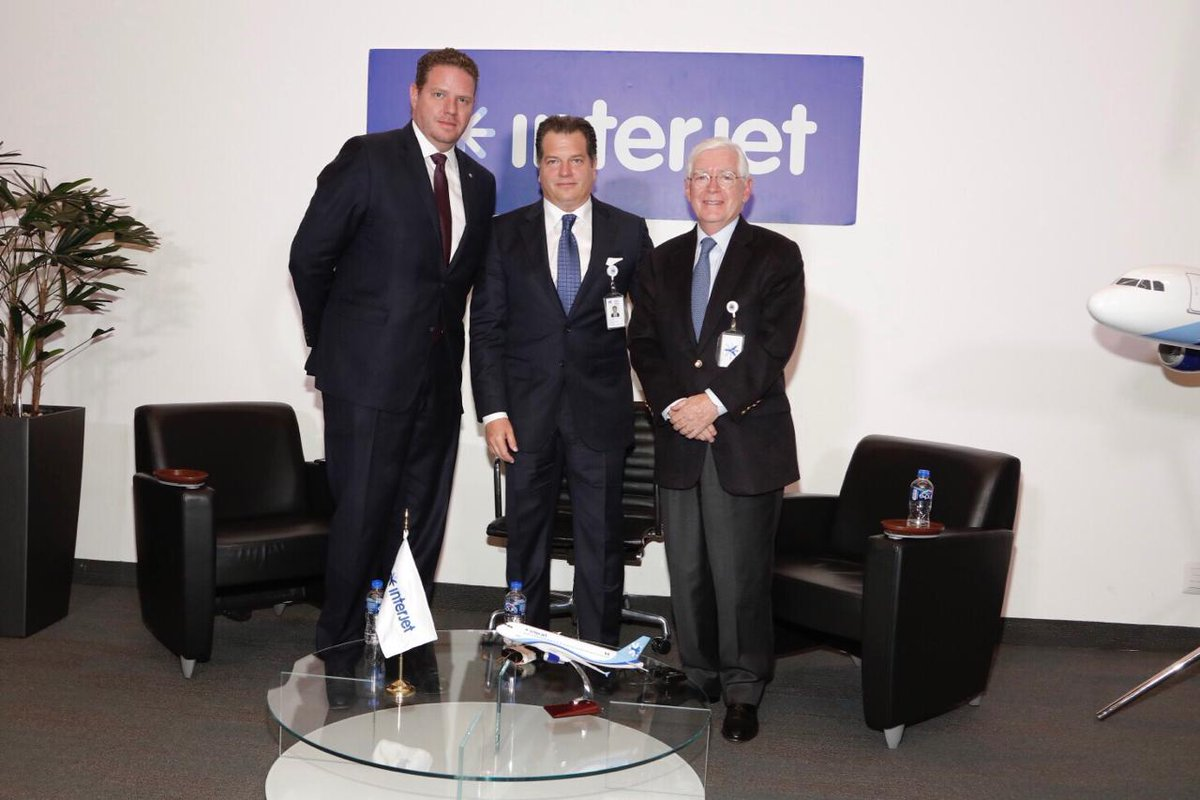 Interjet names William Shaw as new CEO