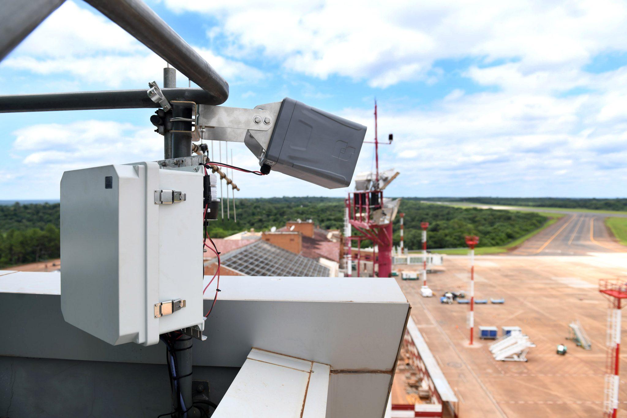 Argentina: Se instaló en el aeropuerto de Iguazú el nuevo sistema de detección de actividad eléctrica