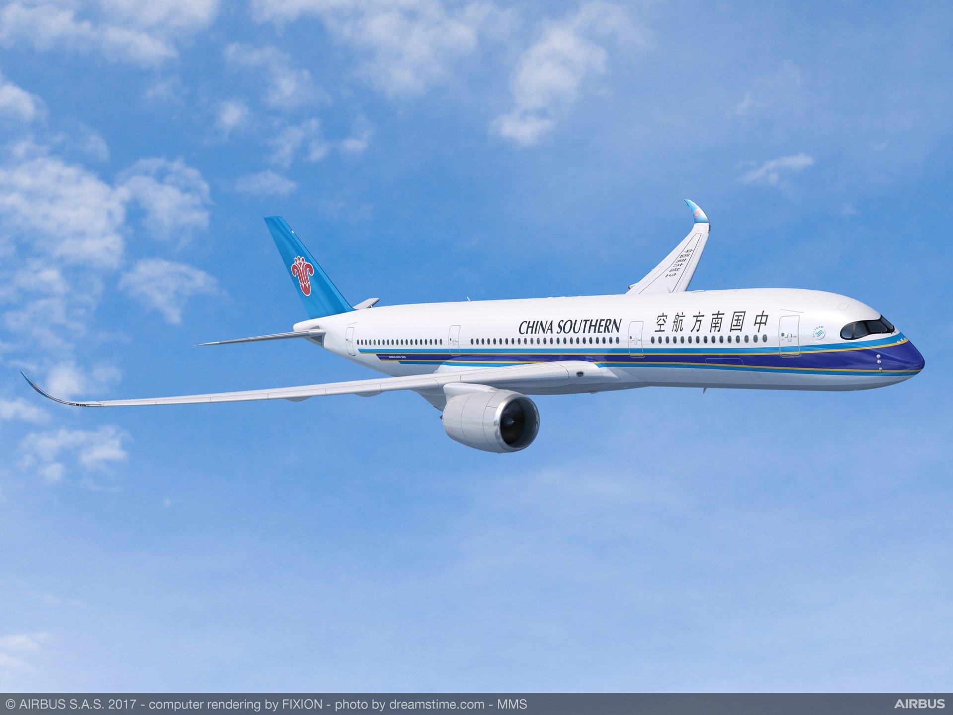 Air China compra 20 nuevos A350