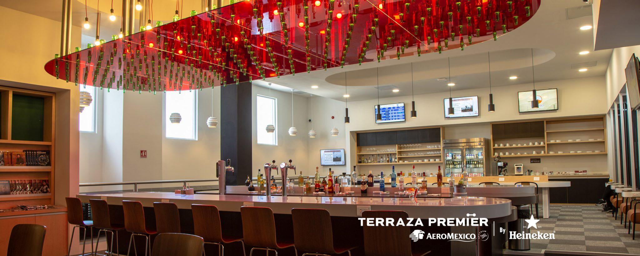Aeroméxico y Heineken inauguran Terraza Premier en el Aeropuerto de Monterrey