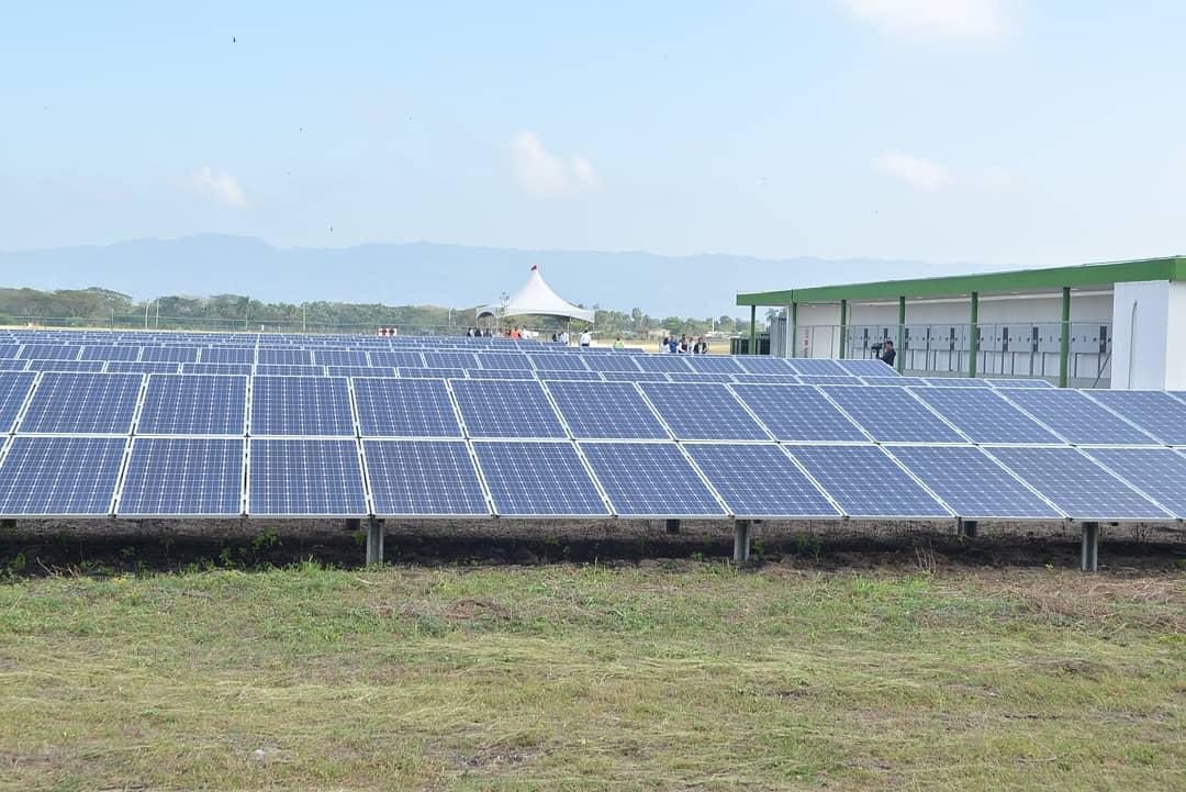 RD: Aeropuerto del Cibao pone en marcha segunda fase de planta fotovoltaica