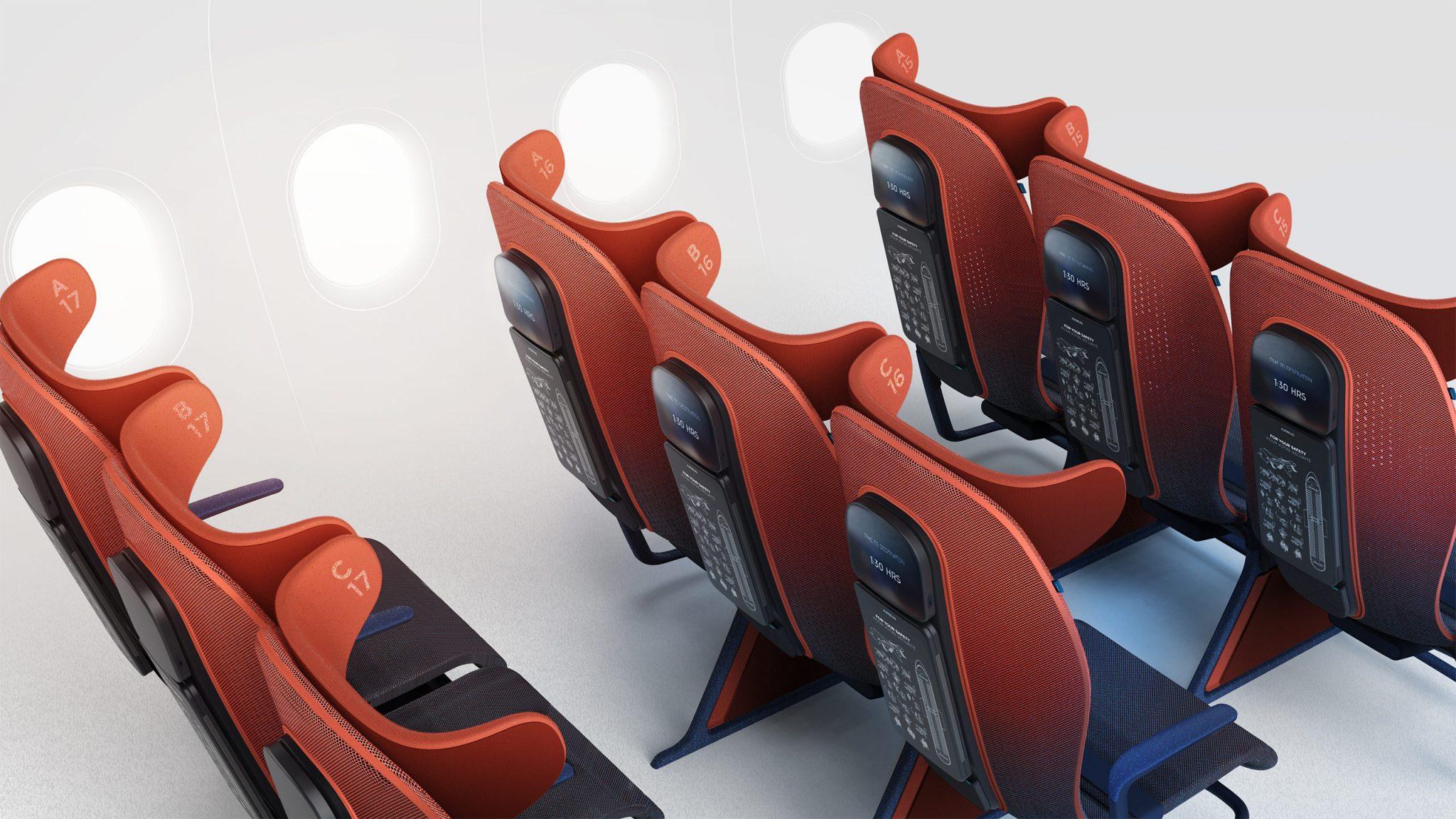 Tecnología de la Fórmula 1 para los asientos de avión de Airbus