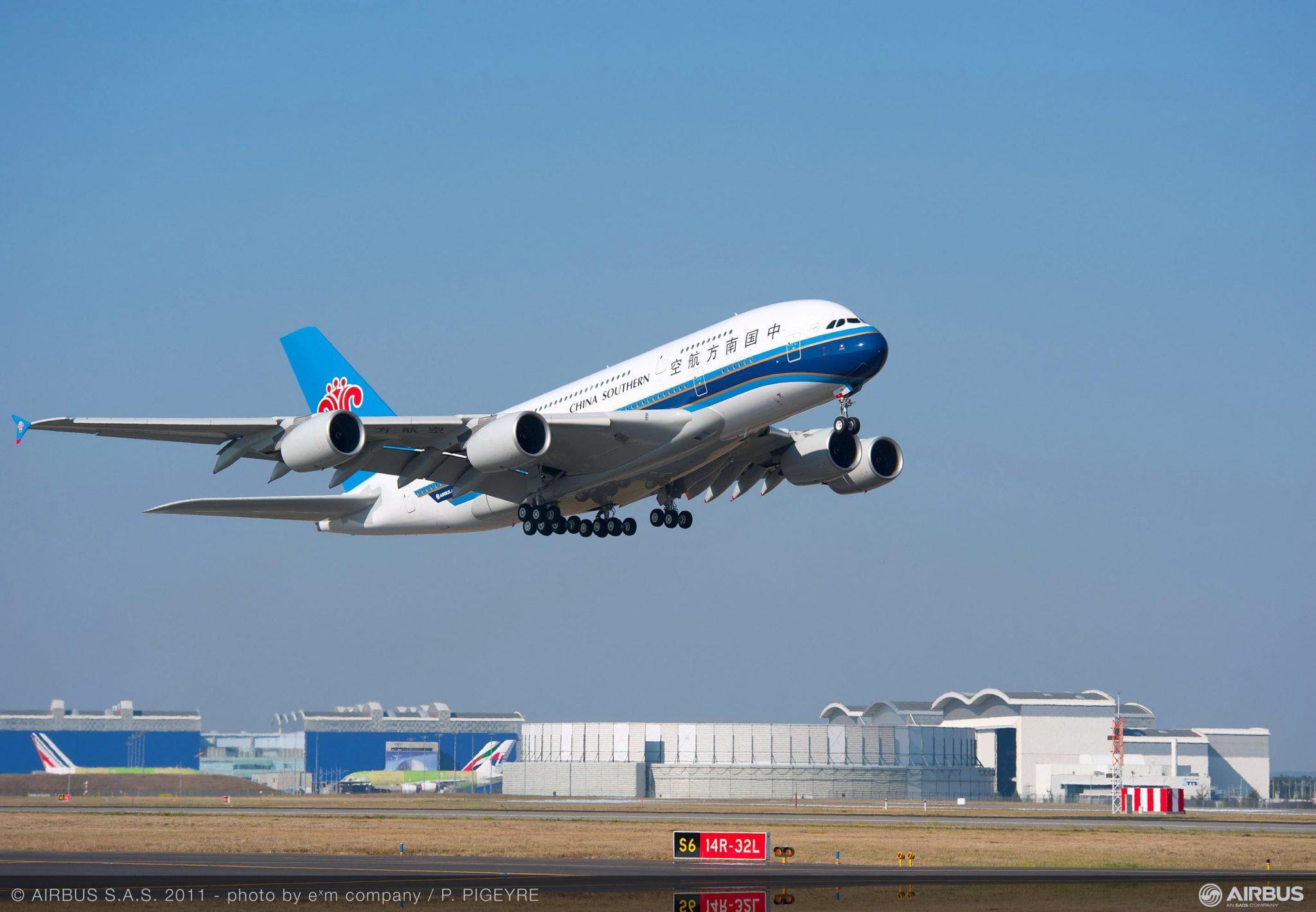 Base de China Southern Airlines en nuevo aeropuerto de Beijing se abrirá en septiembre