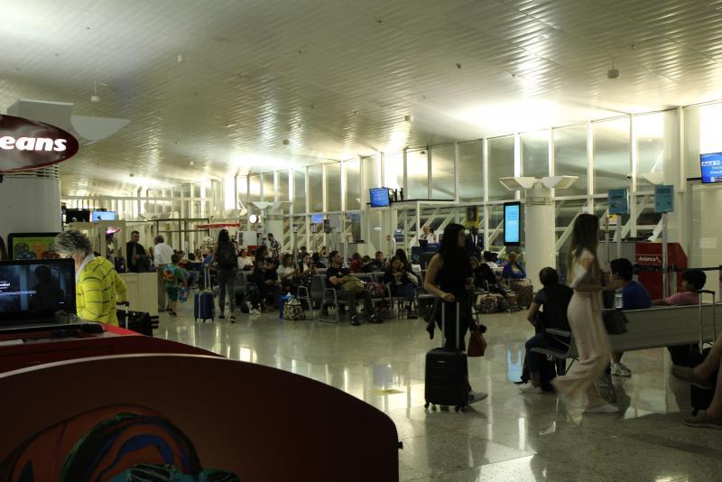 Aeroporto de Cuiabá tem aumento de 7,3% de passageiros no 1º bimestre de 2019