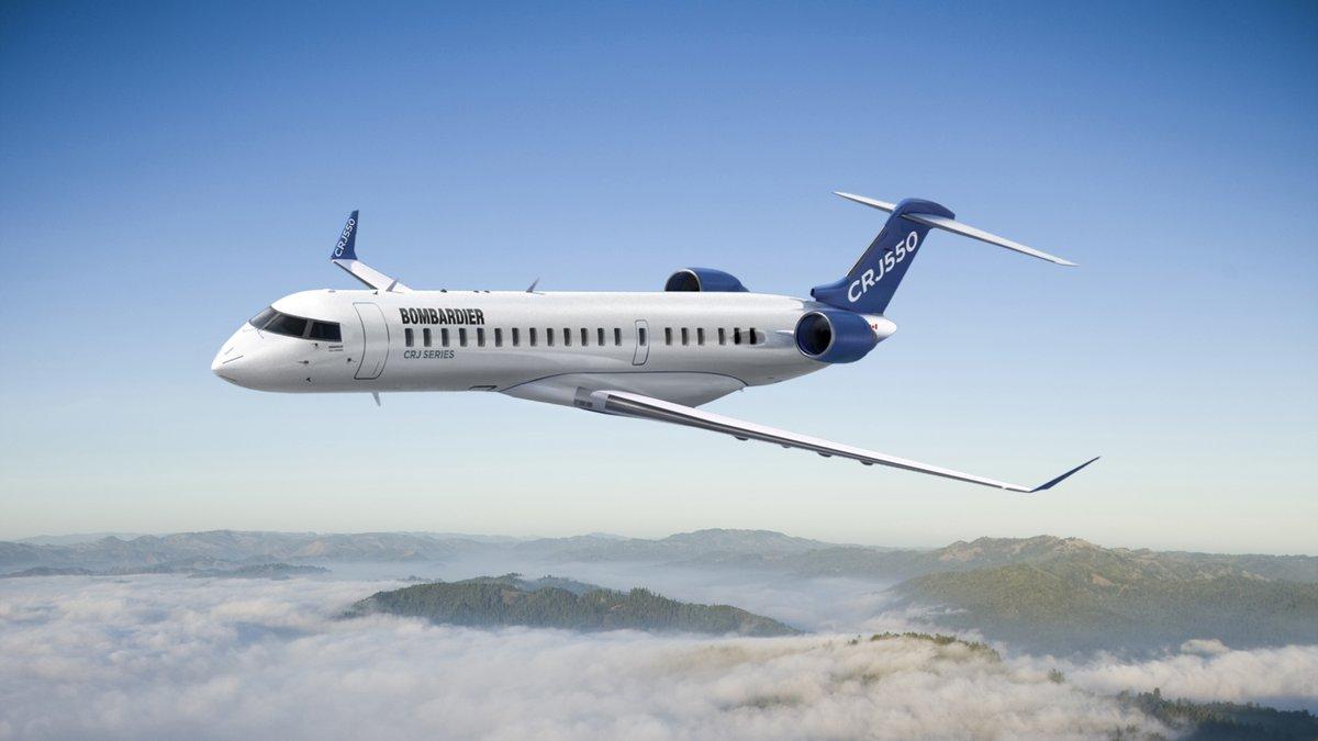 Bombardier vende programa CRJ a Mitsubishi