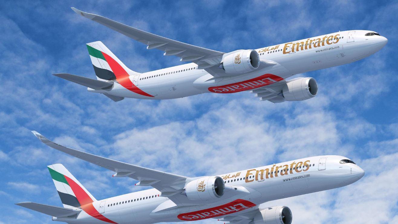 Adquiere Emirates aviones A330 y A350