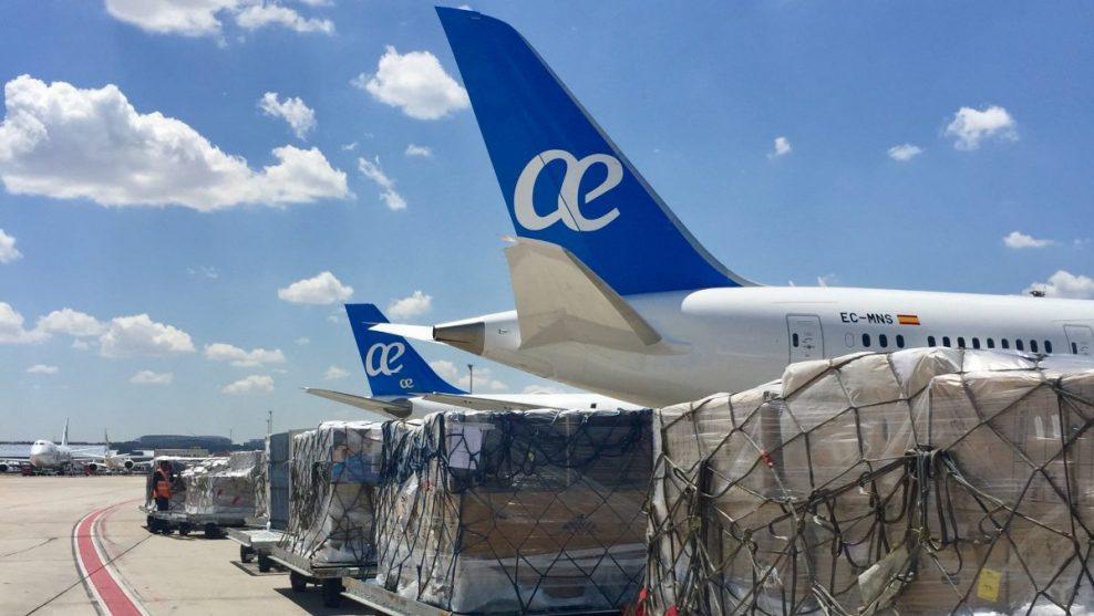 Creación de Air Europa Cargo lleva a la aerolínea a incrementar un 45% su actividad