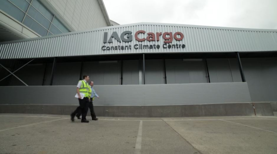 IAG Cargo opens constant climate centre in Madrid
